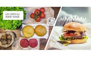 2x Burgers genevois GRTA  Recette pour 2 personnes