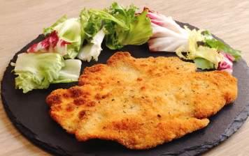 """Veal schnitzel """"Suisse Garantie"""""""