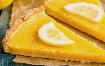 Recipe for: lemon tart