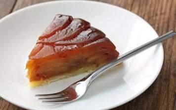 Recipe for:  Apple tarte tatin