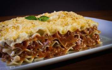 Beef and pork bolognese...