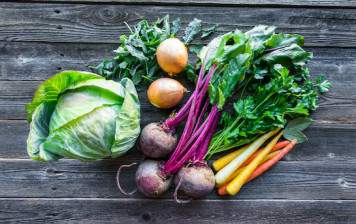 Vegetables from Geneva