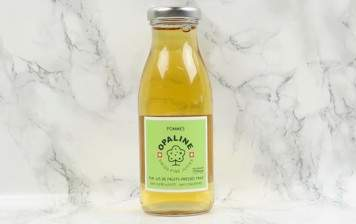 Apple juice from the Valais...