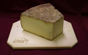 Caramelized old Gruyère cheese