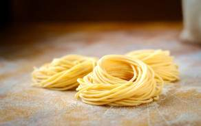 Spaghetti frais fait maison
