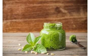 Pesto à la Genovese frais fait maison