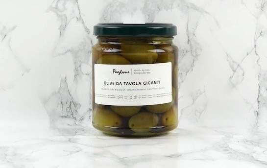 Olives vertes géantes Agnoni