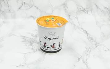 Apricot yogurt from Moléson