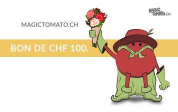 Magic Tomato 100 CHF gift...