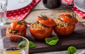 Tomate farcie à la viande
