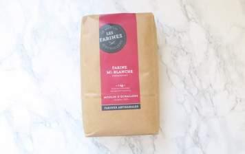 half-white flour