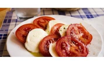 Tomates GRTA & Mozza di Bufala  A réaliser pour 4 personnes
