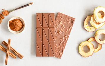 Chocolat au Lait Mesa - Pomme et cannelle