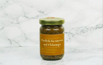 Moutarde des amoureux - miel & balsamique