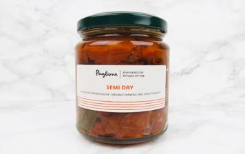 Tomates BIO mi-séchées au soleil en huile EVO