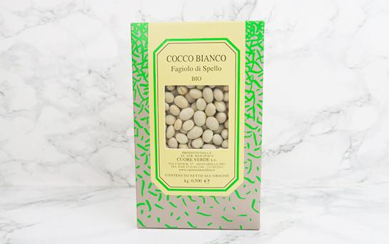 Haricot blanc 'cocco di Spello' d'Ombre