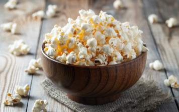 Your homemade popcorn