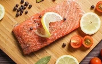 Salmon filet from Scotland