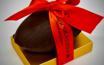 Oeuf au chocolat noir