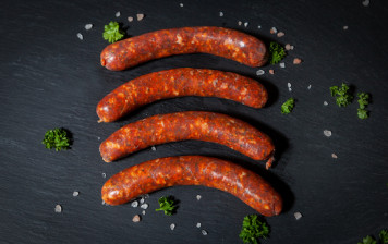 6 home made merguez...