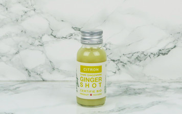 Organic ginger shot - lemon