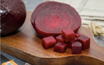 Cooked Beetroot cubes