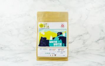 Café Utopia - Moitié - Moitié BIO, en grains