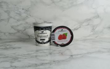 Local Raspberry Yoghurt