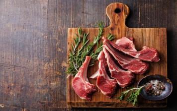 Valais lamb chop with herbs