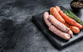 Sausage BBQ platter for 4...