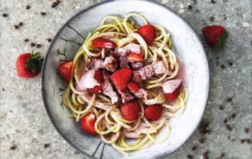 Spaghetti carbonara and...