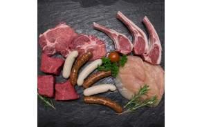 Merguez maison (agneau & boeuf) x 4 saucisses